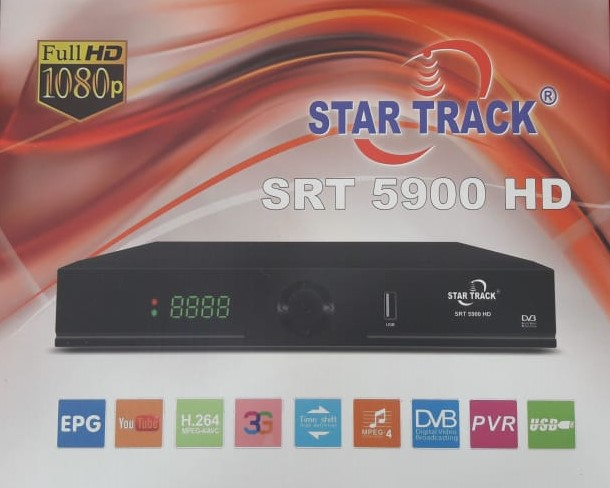 جديد جهاز STAR TRECK 5900 HD  بتاريخ 2019/08/24